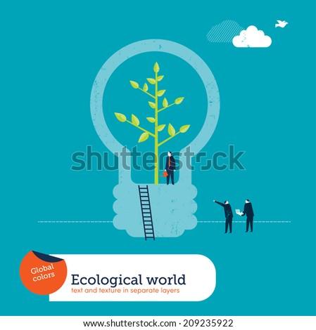 Bulb Plant - stock vector