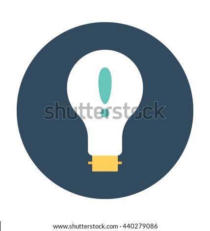 vector square blue icon lighting bulb. bulb vector icon square blue lighting