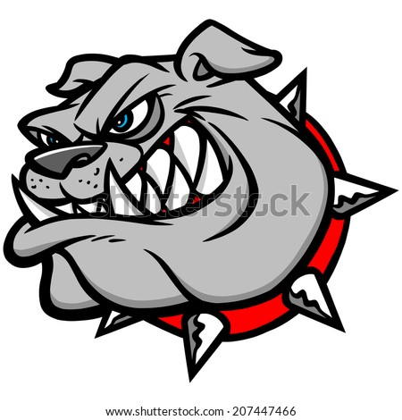 Bulldog Extreme - stock vector
