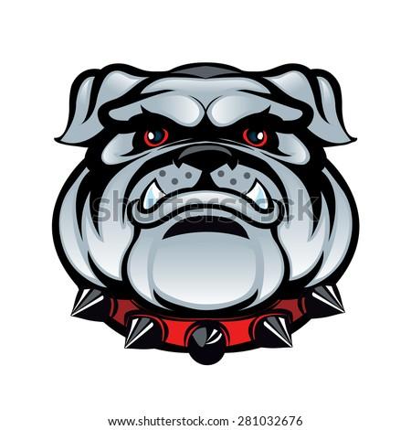 Stock Images similar to ID 39265108 - vector bulldog head ...