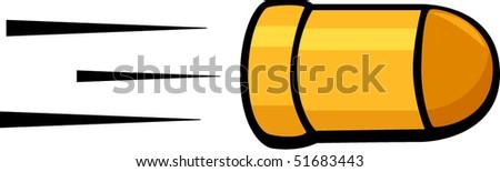 bullet - stock vector