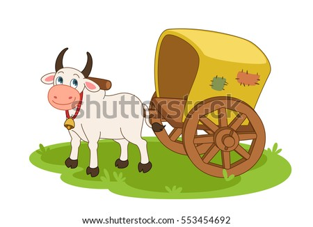 Cow Cart Clipart Ox Stock Images, Royal...