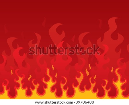 Burning Background (vector). In the gallery also available XXL jpeg version of this image.