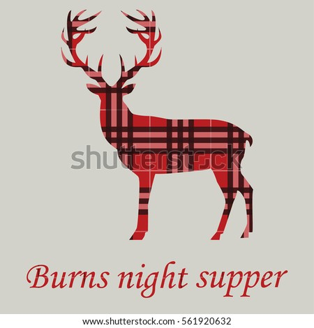 Burns night stock images royalty free images vectors for Burns supper menu template