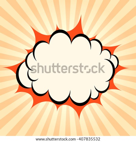 Bursting boom rays background, abstract vector pattern illustration