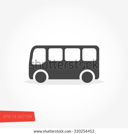 Bus Icon / Bus Icon Object / Bus Icon Picture / Bus Icon Drawing / Bus Icon Image / Bus Icon Graphic / Bus Icon Art / Bus Icon JPG / Bus Icon JPEG / Bus Icon EPS / Bus Icon AI - stock vector