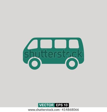 Bus icon vector, bus icon eps10, bus icon picture, bus icon flat, bus icon, bus web icon, bus icon art, bus icon drawing, bus icon, bus icon jpg, bus icon object, bus icon illustration - stock vector