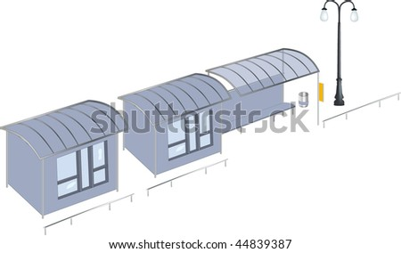 Bus Depot Stock Images Royalty Free Images Vectors