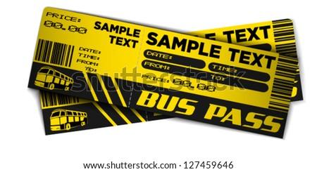 Bus Ticket Images RoyaltyFree Images Vectors – Sample Ticket Design