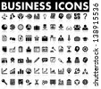 Business and Management Icons - stock photo