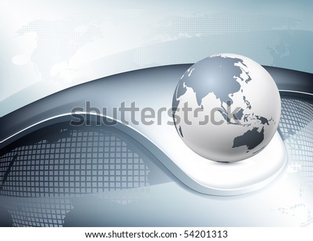 Business Background, vector - stock vector