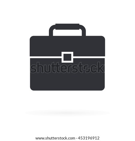 Business Bag Icon - stock vector