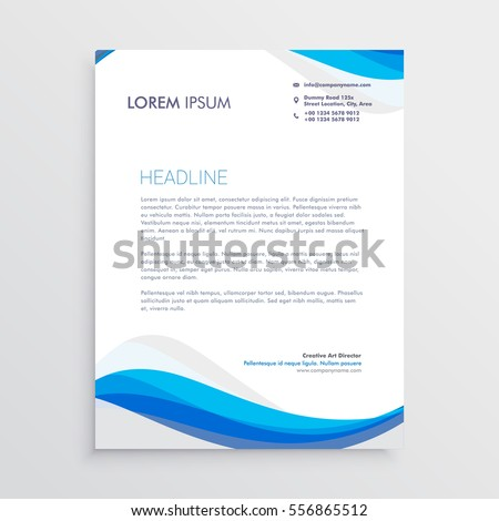 Letterhead Template Images RoyaltyFree Images Vectors – Letterhead Template