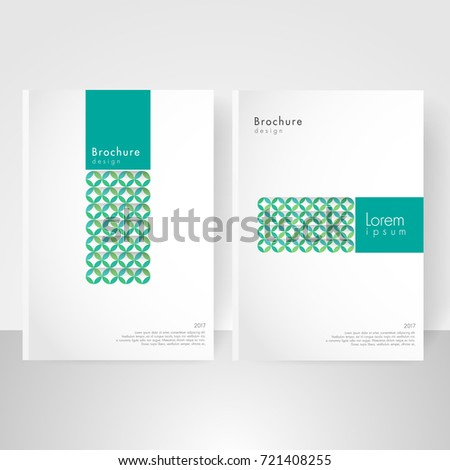 Business brochure cover template cover design stock vector 721408255 business brochure cover template cover design annual report corporate booklet business card reheart Images