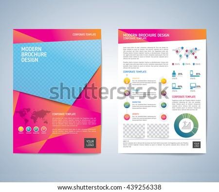 Business brochure flyer design layout template stock photo photo business brochure flyer design layout template business brochure flyer magazine cover design template saigontimesfo