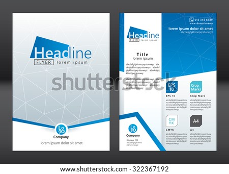 Business Brochure Template Stock Images, Royalty-Free Images
