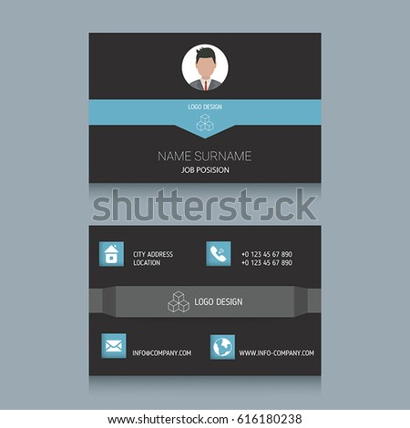 Business card designs easy adapt business stock vector 616180238 business card designs easy to adapt business vector set reheart Choice Image