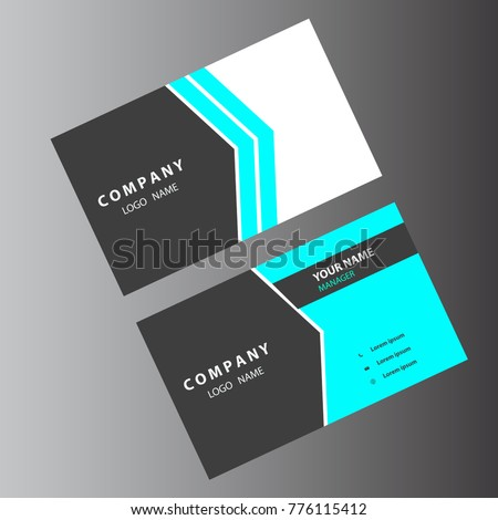 Business card light colors stock vector 2018 776115412 shutterstock business card light colors colourmoves
