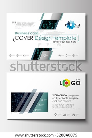 Business card templates cover design template stock vector 528040075 business card templates cover design template easy editable blank abstract flat layout wajeb Gallery