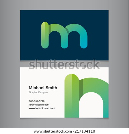Business card alphabet letter m stock vector hd royalty free business card alphabet letter m stock vector hd royalty free 217134118 shutterstock thecheapjerseys Image collections