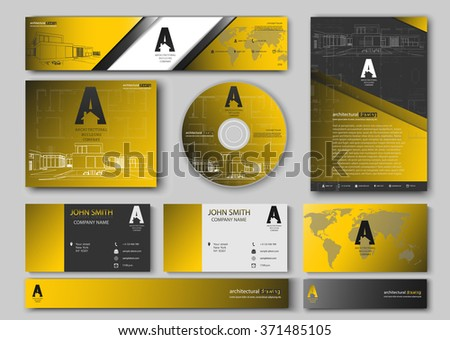 Business cards design blueprint sketch architectural stock vector hd business cards design with blueprint sketch for architectural company architectural background for architectural project malvernweather Image collections