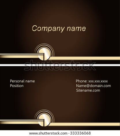 Business cards elegant design blank card stock vector hd royalty business cards elegant design blank card vector eps10 text company stopboris Image collections