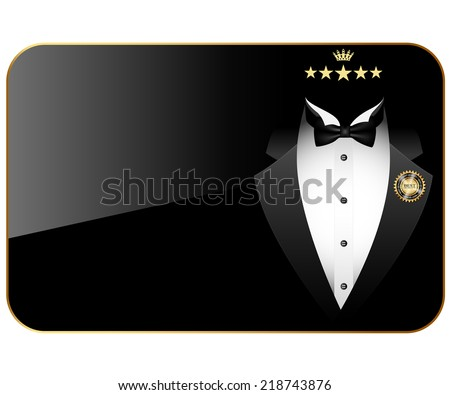 Business cards premium quality. Illustration. Vector. - stock vector