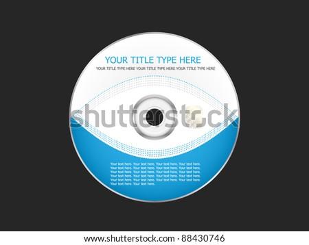 Business CD - stock vector