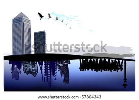 business concept background - stock vector