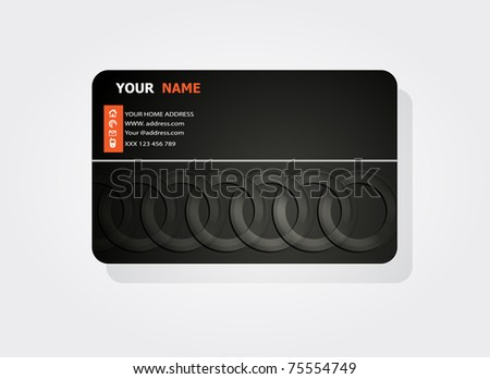 Business concept card design