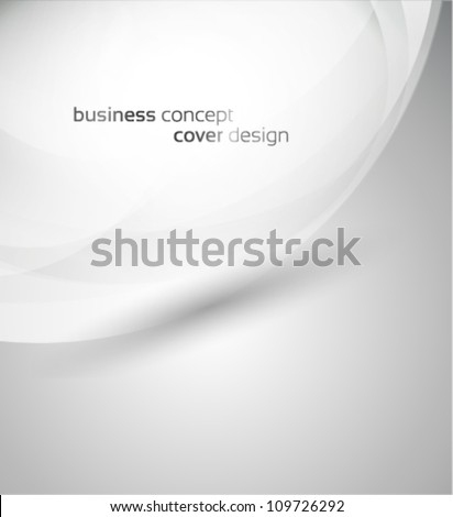 business concept cover design - stock vector