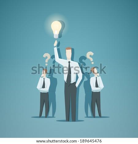 Business concept - Idea - stock vector