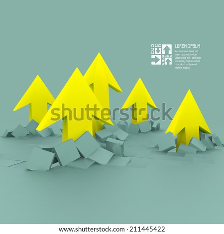 Business concept vector illustration. - stock vector