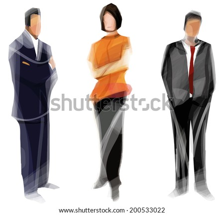 Business Cooperation - stock vector