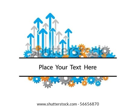 business design concept - stock vector