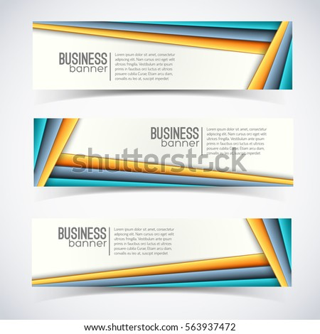 Isolated Horizontal Banner Stock Images, Royalty-Free Images ...