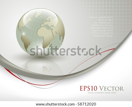 Business elegant abstract background - vector illustration - stock vector