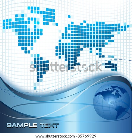 Business elegant abstract background. Vector illustration