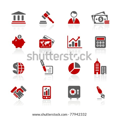Business & Finance Web Icons // Redico Series