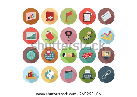 Business Flat Icons Vol 3