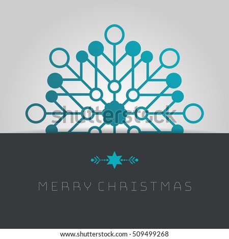Business greeting christmas card template snowflakes stock vector business greeting christmas card template snowflakes cheaphphosting Image collections