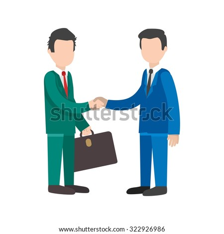 Business, handshake, trust icon vector image. Can also be used for activities. Suitable for use on web apps, mobile apps and print media.