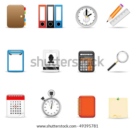 Business icon set#1 - stock vector