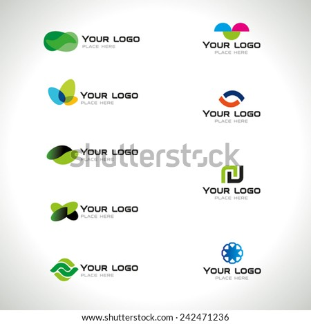 Business Icons Set - Isolated On White Background - Vector Illustration