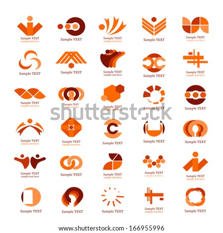 Business Icons Set - Isolated On White Background - Vector Illustration, Graphic Design Editable For Your Design.  - stock vector