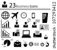 Business icons (vector) - stock vector