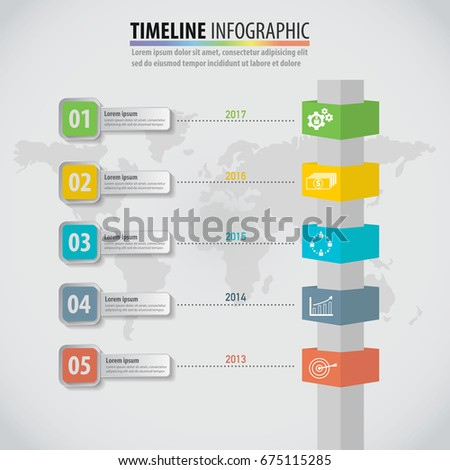 Business idea infographic multidirectional pointers on stock photo business idea infographic of multidirectional pointers on a signpost pole graph template can be used for fbccfo Choice Image