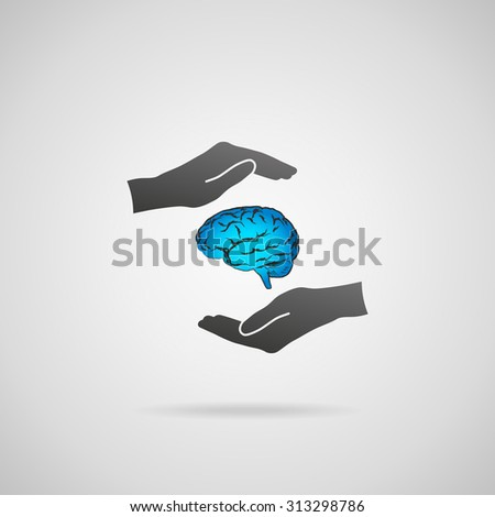 Business ideas and creativity, headhunter concepts, business intelligence, mental health and psychology, business decision making, copyright and intellectual property rights. - stock vector