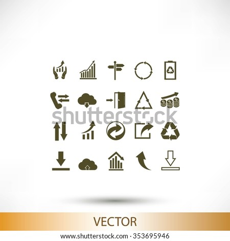 Business Infographic icons - stock vector