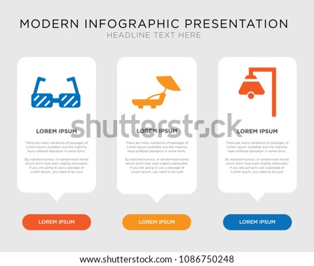 Business Infographic Template Design Boat Bell Stock Vector ...